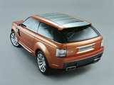 Land Rover Range Stormer Concept 2004 wallpapers