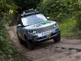 Photos of Range Rover Hybrid Prototype (L405) 2013
