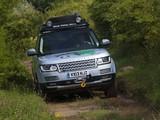 Pictures of Range Rover Hybrid Prototype (L405) 2013