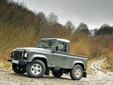 Images of Land Rover Defender 90 Pickup UK-spec 2007