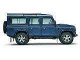 Images of Land Rover Defender 110 Station Wagon EU-spec 2007