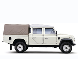 Images of Land Rover Defender 130 Double Cab High Capacity Pickup UK-spec 2007
