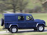 Images of Land Rover Defender 110 Utility Wagon UK-spec 2009