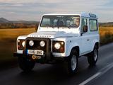 Images of Land Rover Defender 90 Station Wagon EU-spec 2007