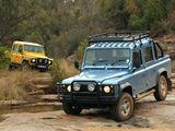 Land Rover Defender 110 Double Cab Pickup ZA-spec 1990–2007 images