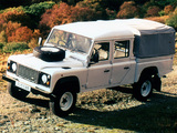 Land Rover Defender 130 Double Cab High Capacity Pickup ZA-spec 1990–2007 images