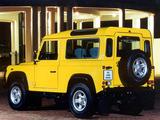 Land Rover Defender 90 Station Wagon ZA-spec 1990–2007 images