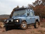 Land Rover Defender 110 Double Cab Pickup ZA-spec 1990–2007 photos