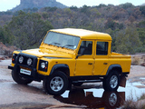 Land Rover Defender 110 Double Cab Pickup ZA-spec 1990–2007 pictures