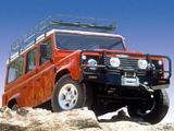 Land Rover Defender 110 Station Wagon AU-spec 1990–2007 pictures