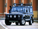 Land Rover Defender 110 Station Wagon AU-spec 1990–2007 wallpapers