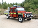 Land Rover Defender 130 Double Cab Fire Service 1990–2007 wallpapers
