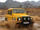 Land Rover Defender 110 Double Cab Pickup ZA-spec 1990–2007 wallpapers
