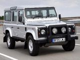Land Rover Defender Silver Limited Edition 2005 pictures