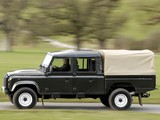 Land Rover Defender 130 Double Cab High Capacity Pickup UK-spec 2007 images