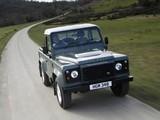 Land Rover Defender 90 Pickup UK-spec 2007 images