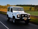 Land Rover Defender 90 Station Wagon EU-spec 2007 images