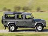 Land Rover Defender 110 Station Wagon UK-spec 2007 images