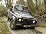 Land Rover Defender 110 High Capacity Pickup 2007 photos
