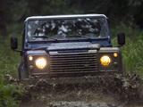 Land Rover Defender 90 Station Wagon EU-spec 2007 photos