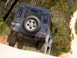 Land Rover Defender 110 Station Wagon AU-spec 2007 photos