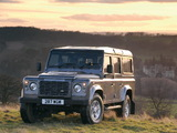 Land Rover Defender 110 Station Wagon UK-spec 2007 photos