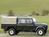 Land Rover Defender 130 Double Cab High Capacity Pickup UK-spec 2007 photos