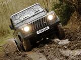 Land Rover Defender 90 Pickup UK-spec 2007 photos