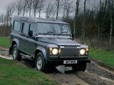 Land Rover Defender 110 Station Wagon UK-spec 2007 pictures