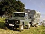 Land Rover Defender 90 Pickup UK-spec 2007 pictures