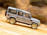 Land Rover Defender 110 Station Wagon AU-spec 2007 pictures