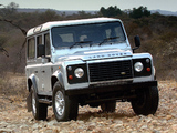 Land Rover Defender 110 Station Wagon ZA-spec 2007 pictures