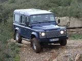 Land Rover Defender 110 Station Wagon EU-spec 2007 pictures