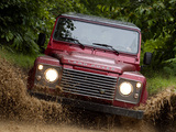 Land Rover Defender 110 Station Wagon EU-spec 2007 wallpapers