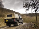 Land Rover Defender 130 Double Cab High Capacity Pickup UK-spec 2007 wallpapers