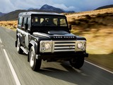 Land Rover Defender 110 SVX RHD 2008 photos