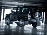 Land Rover Defender 110 SVX RHD 2008 wallpapers