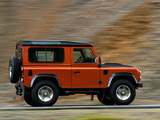 Land Rover Defender Fire 2009 pictures