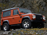 Land Rover Defender Fire 2009 wallpapers