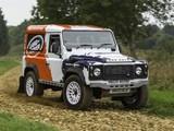 Land Rover Defender Challenge Car 2014 images