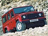 Land Rover Defender 110 Station Wagon 1990–2007 images