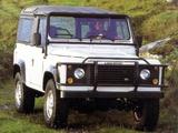 Land Rover Defender 90 NAS Soft Top 1993–97 photos