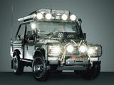 Land Rover Defender 90 Tomb Raider 2001 images