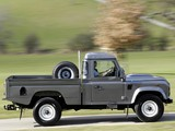 Land Rover Defender 110 High Capacity Pickup 2007 wallpapers