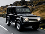 Land Rover Defender 90 SVX 2008 images