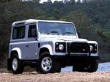 Photos of Land Rover Defender 90 Station Wagon AU-spec 1990–2007