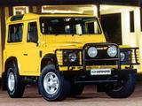 Photos of Land Rover Defender 90 Station Wagon ZA-spec 1990–2007