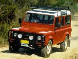 Photos of Land Rover Defender 110 Station Wagon AU-spec 1990–2007