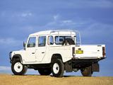 Photos of Land Rover Defender 130 Double Cab Pickup AU-spec 1990–2007