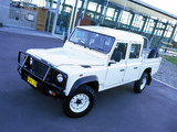Photos of Land Rover Defender 130 Double Cab Pickup AU-spec 1990–2007
